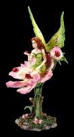 Elfen Figur - Katy sitzend auf Blume