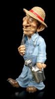 Funny Job Figurine - Gardener with Flower Trowel