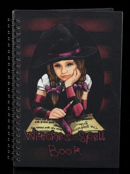 Notizbuch - Lil Witches - Matilda