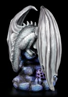 Adult Rock Dragon Figurine