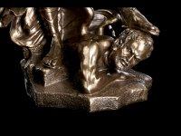 XXL Erzengel Michael Figur - bronziert