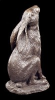 Moon Gazing Hare Figurine