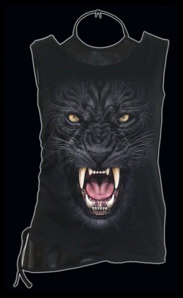 Spiral Damen Gothic Shirt - Tribal Panther