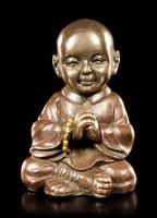 Kleine buddhistische Mönchs Figur