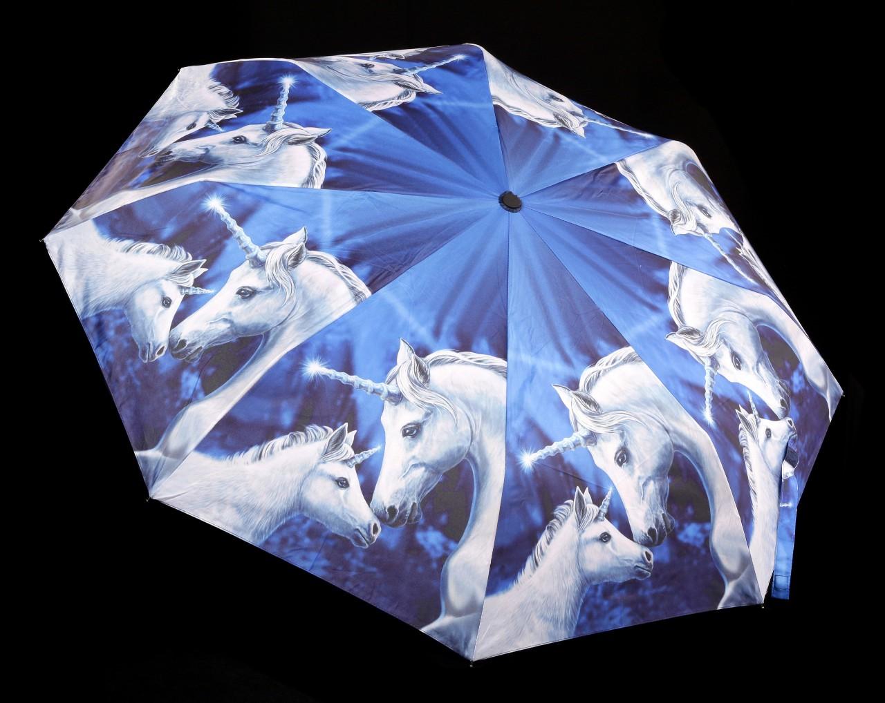 Regenschirm mit Einhörnern - Sacred Love