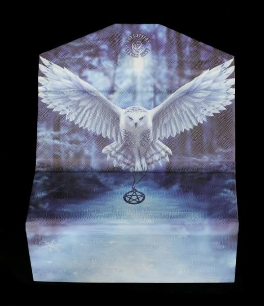 Brillenetui mit Eule - Awaken your Magic
