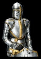 Medieval Knight Figurine - Armor with Sword and Shield