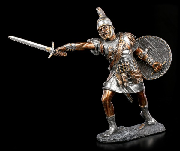 Gladiator Figurine in Attack