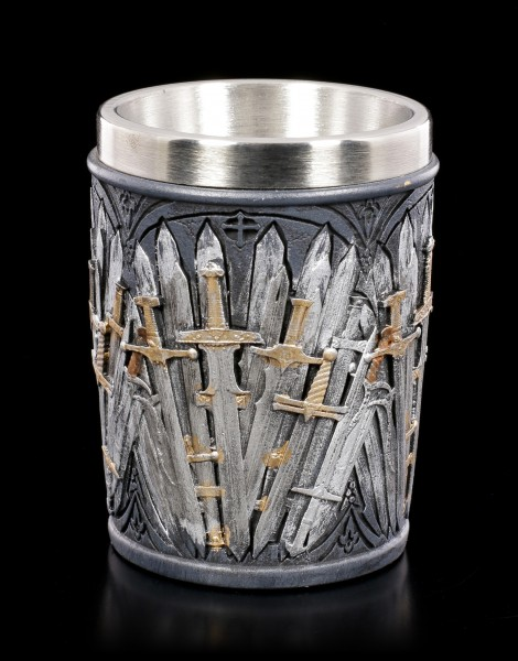 Shot Glass with Swords - Blades of Power