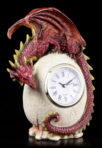 Preview: Dragon Table Clock - Timeless Guardian