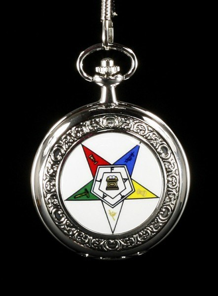 Pocket Watch - Masonic Eastern Star