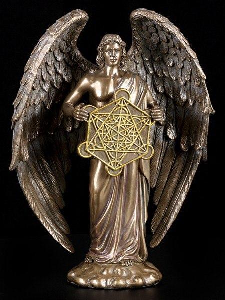 Archangel Metatron Figurine - bronze