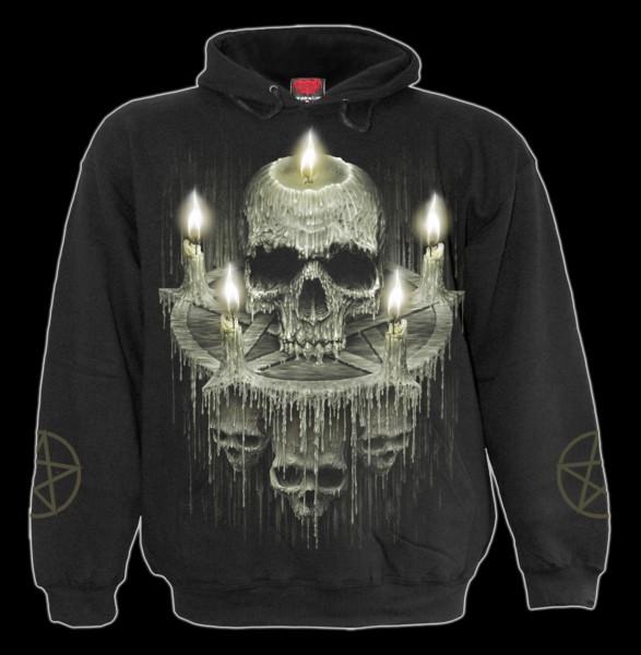 Waxed Skull - Spiral Hoody