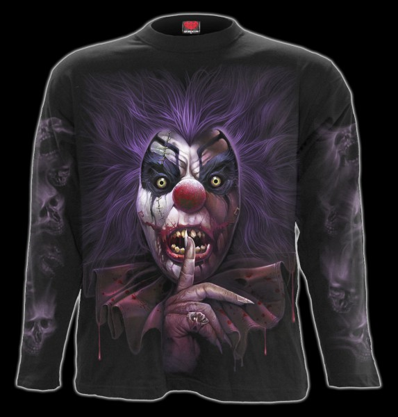 Langarmshirt Horror Clown - Madcap