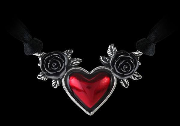 Blood Heart Chocker - Alchemy Gothic Necklace