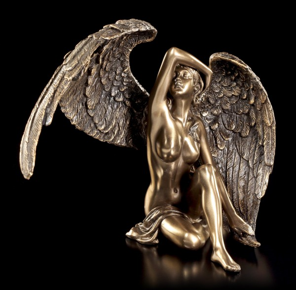 Angel Figurine - Female Nude with open Wings