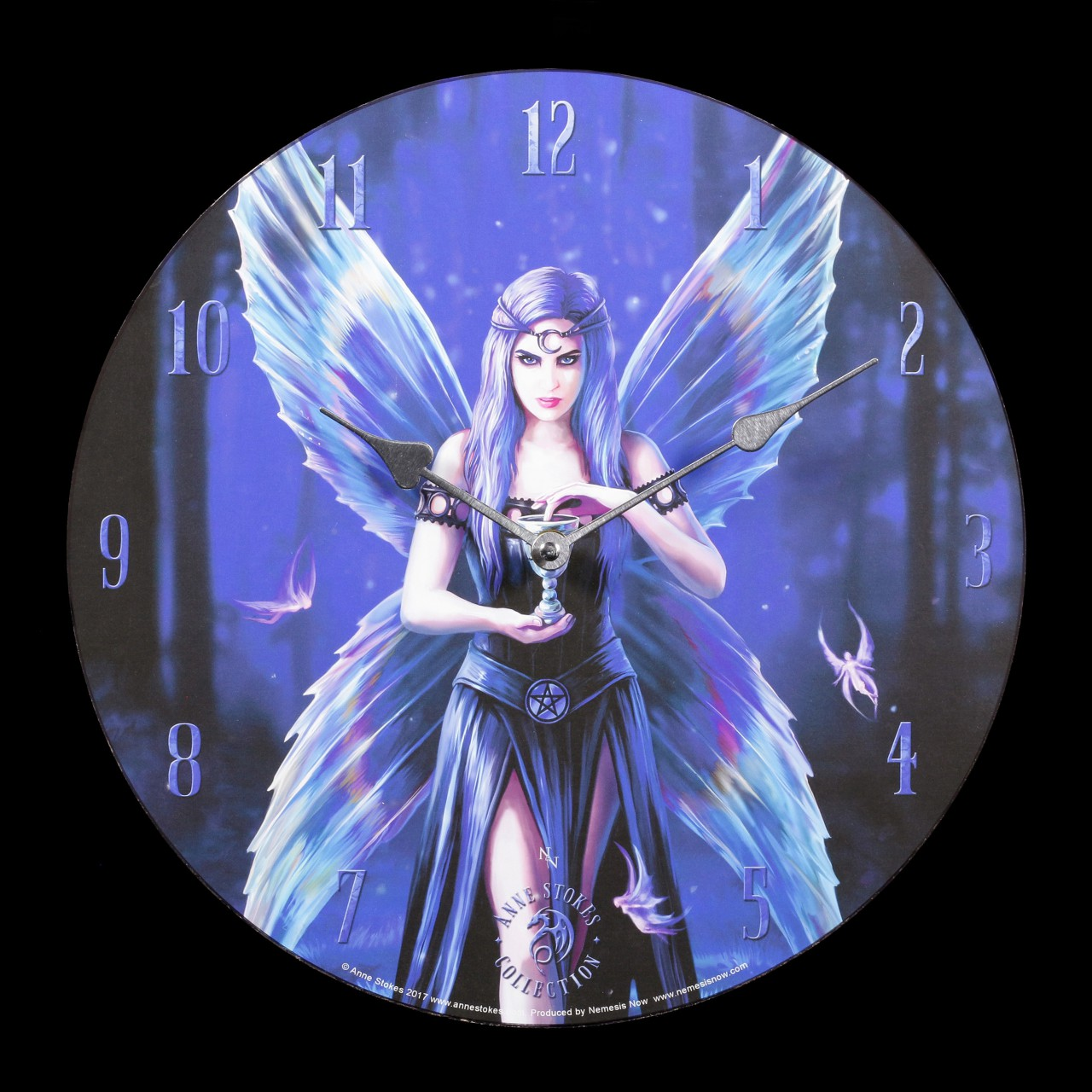 Wall Clock with Fairy - Enchantment