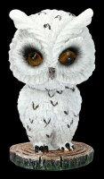 Bobble Head Figurine - Owl Feather