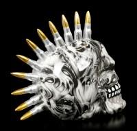 Totenkopf mit Patronen Iro - Soul Bullet