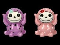 Furry Bones Salt and Pepper Shaker - Octopee