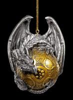 Christmas Tree Ball - Dragon gothic