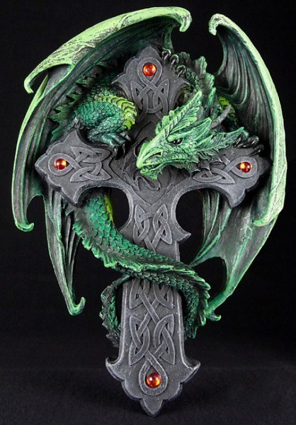 Woodland Guardian Plaque - Anne Stokes
