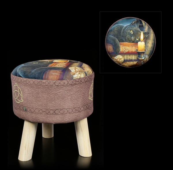 Stool with Cat - Witching Hour
