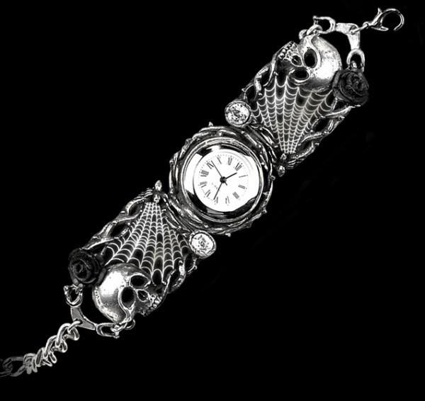 Alchemy Gothic Armbanduhr - Rose Garden
