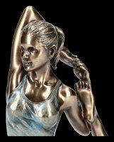 Female Yoga Figurine - Eka Pada Rajakapitasana Position