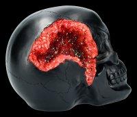 Totenkopf - Geode Skull - rot