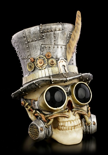 Steampunk Skull - Count Archibald