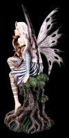 Large Fairy Figurine - Keoni with Dragon