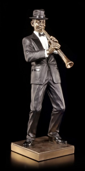 The Jazz Band Figurine - Clarinet Player