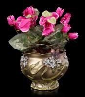 Art Nouveau Flower Pot - Butterfly