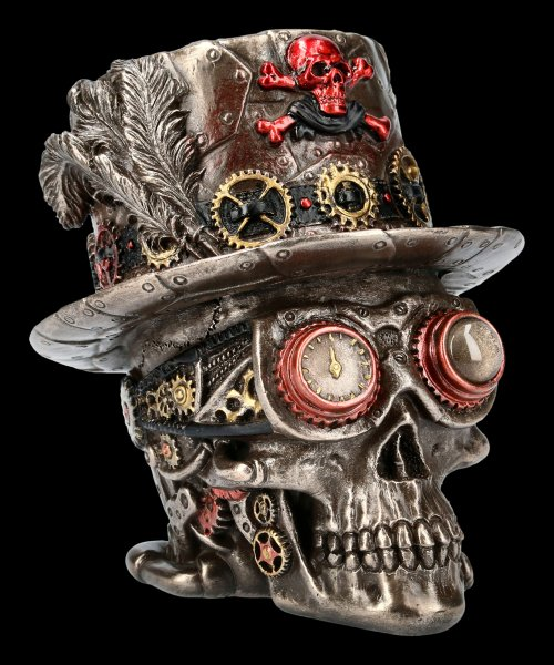 Steampunk Skull - Clockwork Baron