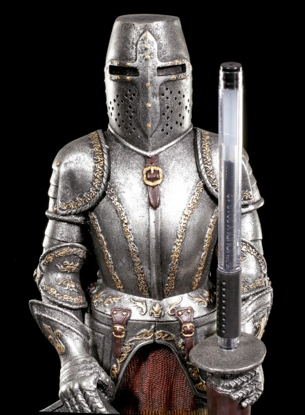 Ritter Stifthalter auf Lanze