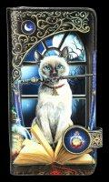 Geldbeutel mit Katze - Hocus Pocus - geprägt