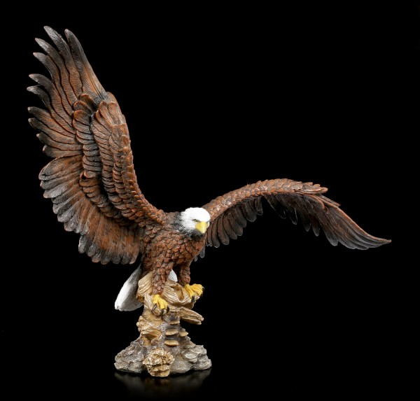 Eagle Figurine with Spreading Wings