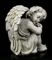 Angel Garden Figurine - Sleeping Child right