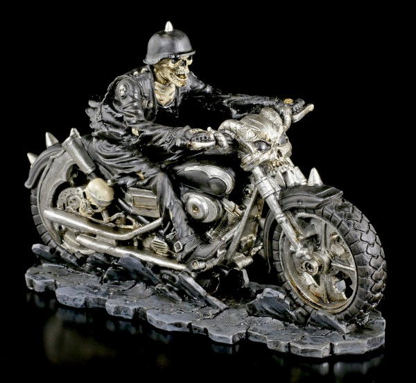 Skeleton Biker Figure - Hell on the Highway