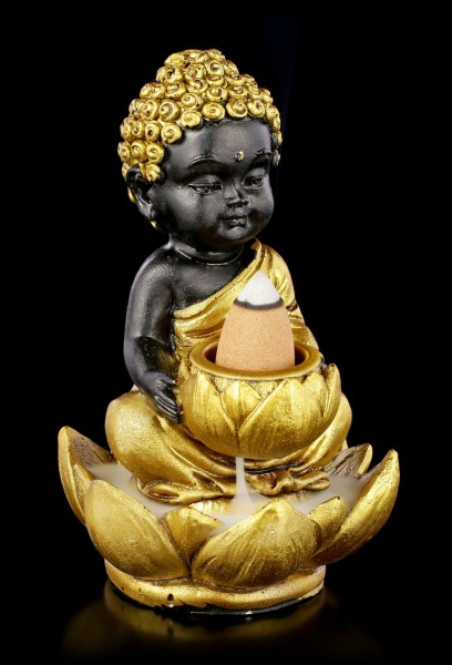 Backflow Incense Cone Holder - Baby Buddha