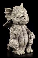 Drachen Gartenfigur - Der Denker