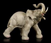 Elefanten Figur - Laufend mit erhobenem Rüssel