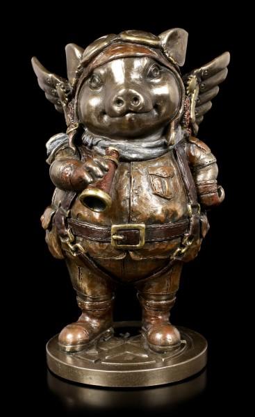 Steampunk Figur - Schwein Porcus Machina