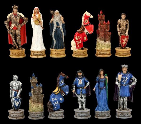 Schachfiguren Set - Arthus Sage