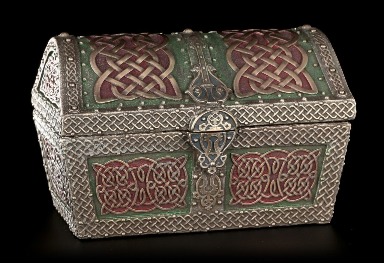 Keltische Schatztruhe