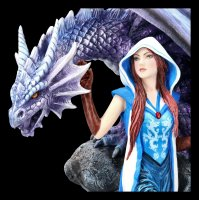 Dragon Mage Figurine by Anne Stokes