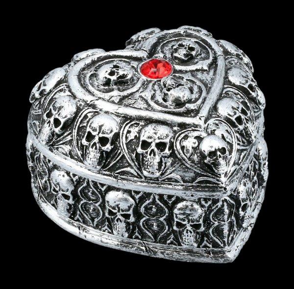 Skull Heart Box
