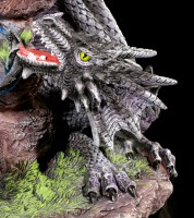 Dragon Figurines - Quen and Ty on Stones