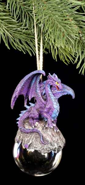 Christmas Tree Decorations - Talisman purple